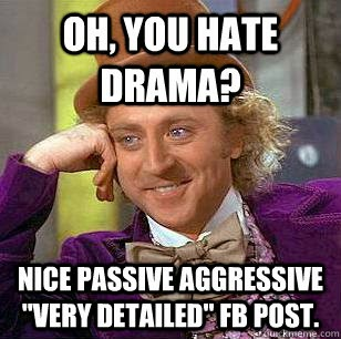 Image result for passive aggressive memes
